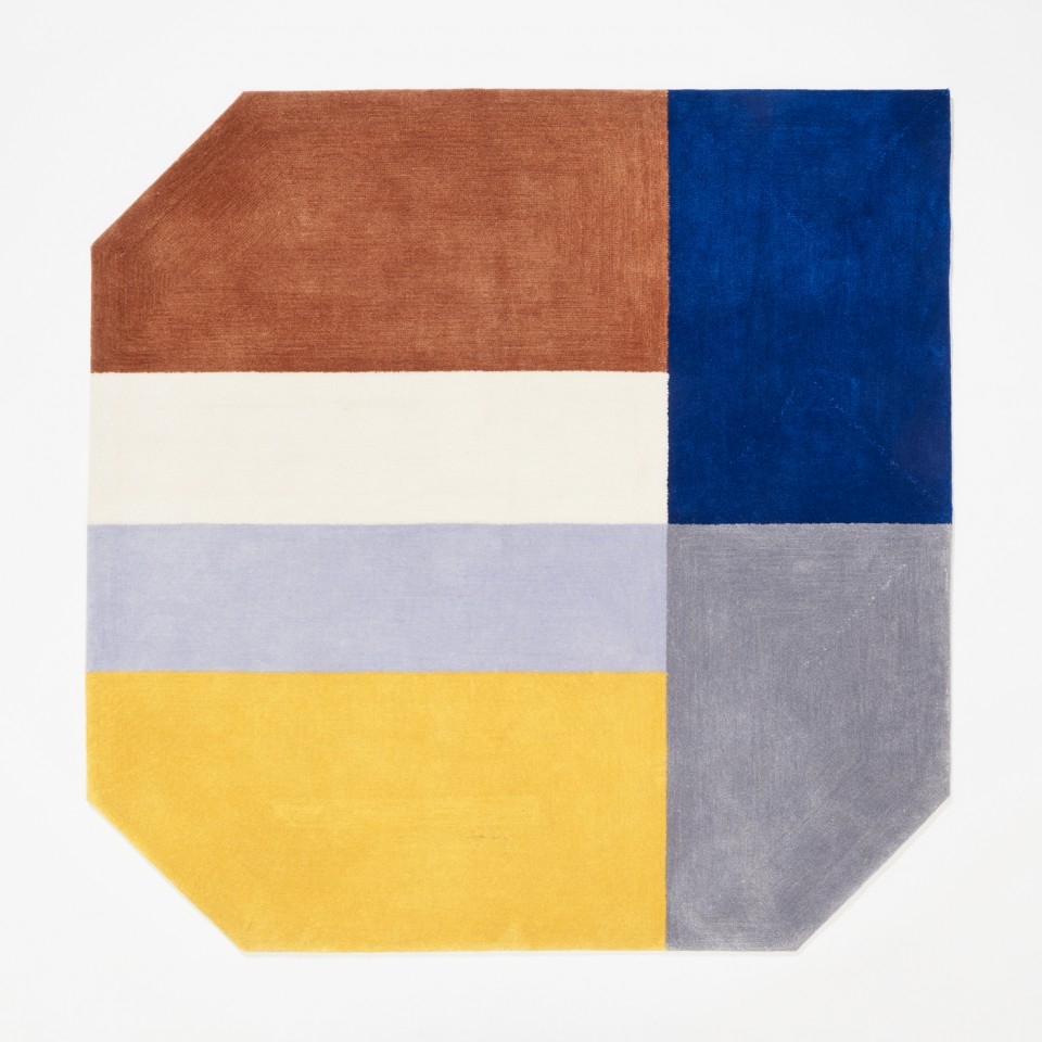 SUMMER area rug from 4Seasons collection, wool blend, photo Jarkko Översti