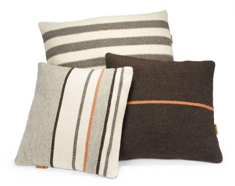 KAINU cushion covers, 100% finnish lambswool      /client: Kainu