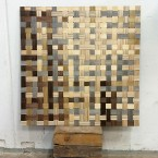 PLYWEAVE / woven plywood panel / prototype