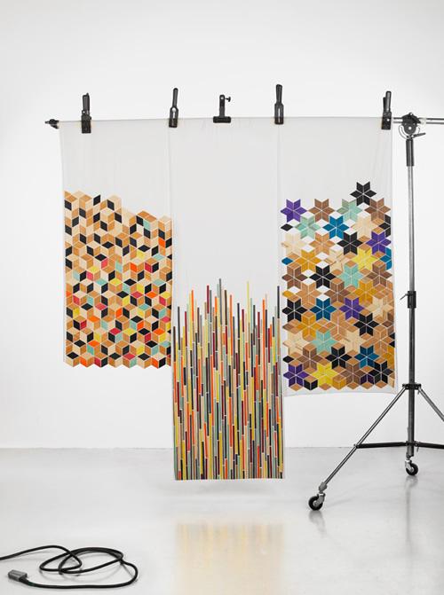 RYTMI plywood tricot / prototypes / Studio Elina Helenius,photo Jarkko Översti
