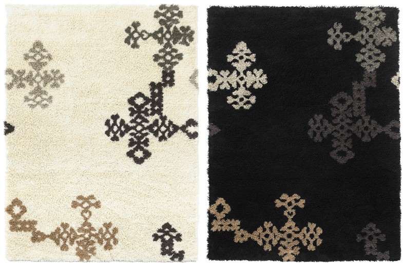 INARI area rugs, wool-linen blend /client: Adea