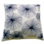 VIERI embroidery silk cushion / Studio Elina Helenius production