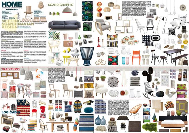 meeting scandinavian design chez home autour du monde studio elina helenius. Black Bedroom Furniture Sets. Home Design Ideas